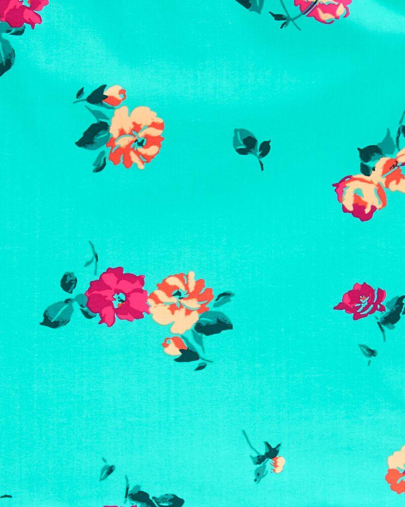 Floral One-Shoulder Tankini, , hi-res