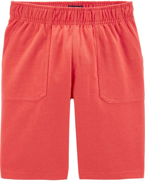 Pull-On Jersey Shorts