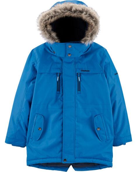 Fleece-Lined Heavyweight Hooded Parka
