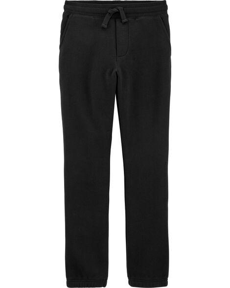 Pantalon sport en molleton