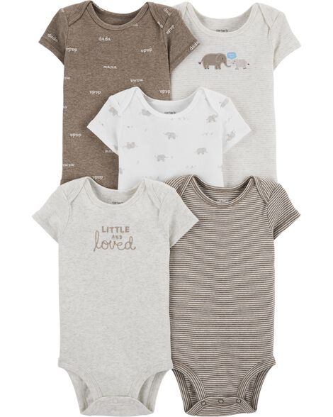 5-Pack Peanut Original Bodysuits