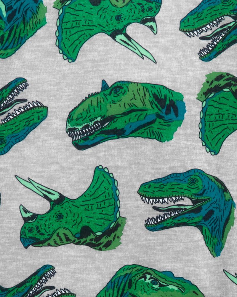 3-Piece Dinosaur Loose Fit PJs, , hi-res