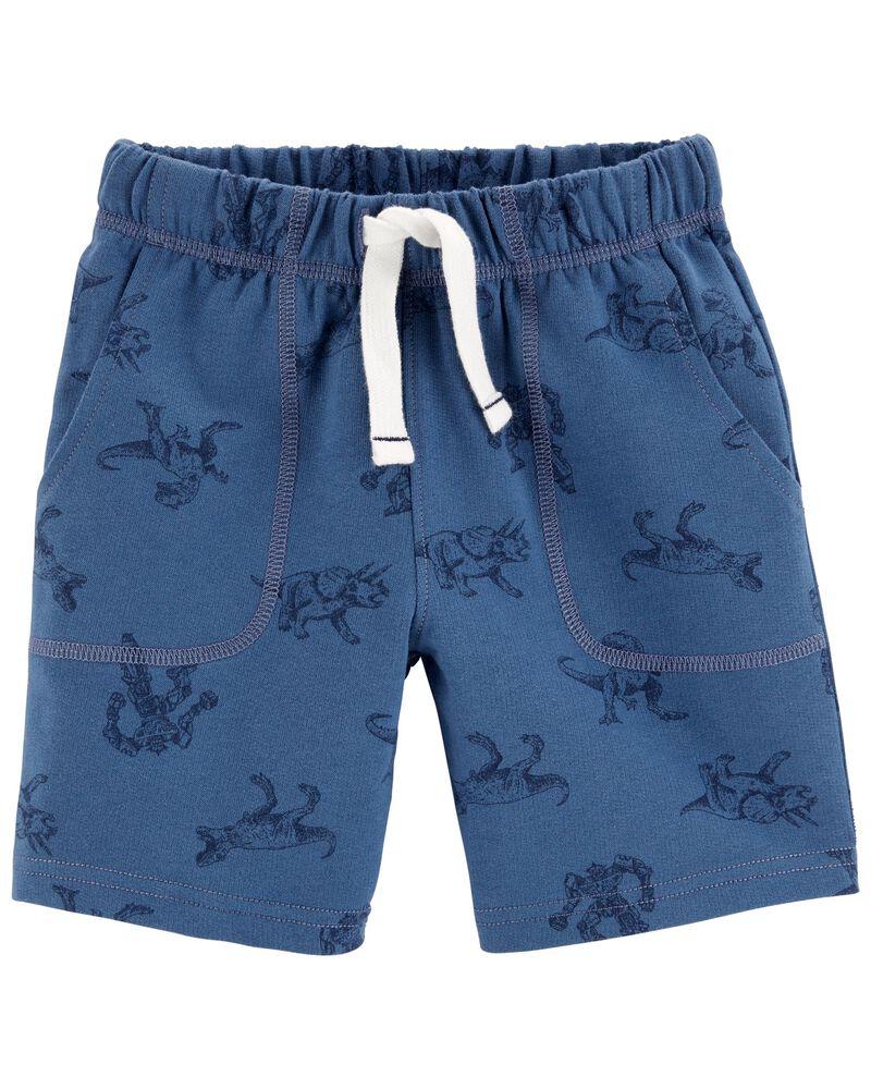 Dinosaur French Terry Shorts, , hi-res