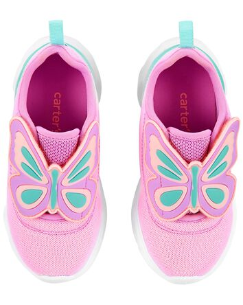 Butterfly Light-Up Sneakers