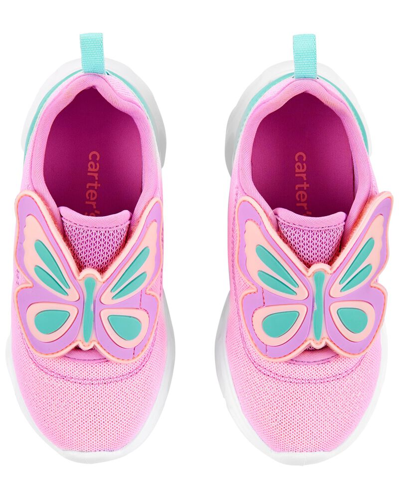 Butterfly Light-Up Sneakers, , hi-res
