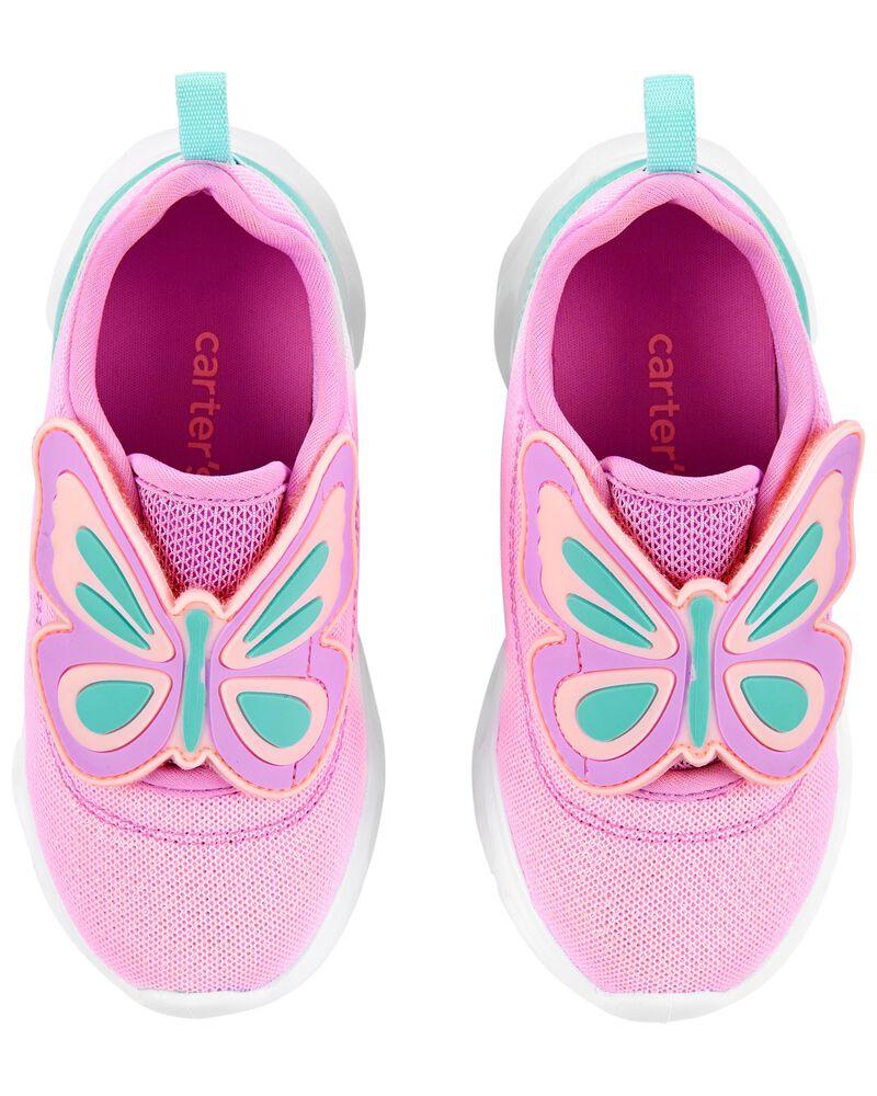 Espadrilles à papillons qui s'illuminent, , hi-res