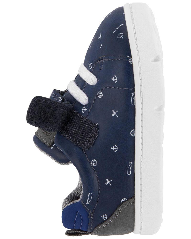 Sports Print Casual Sneakers, , hi-res