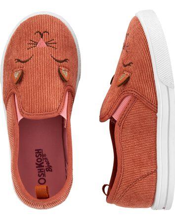 Chaussures à enfiler en velours côt...