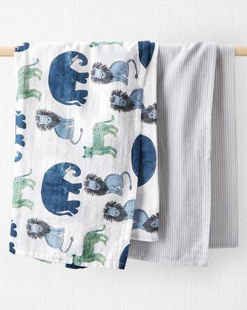 Emballage de 2 couvertures à emmail...
