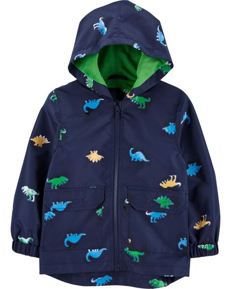 Dinosaur Color-Changing Raincoat