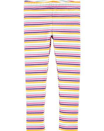 Striped Jersey Leggings