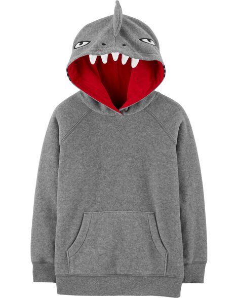 Shark Pullover Fleece Hoodie