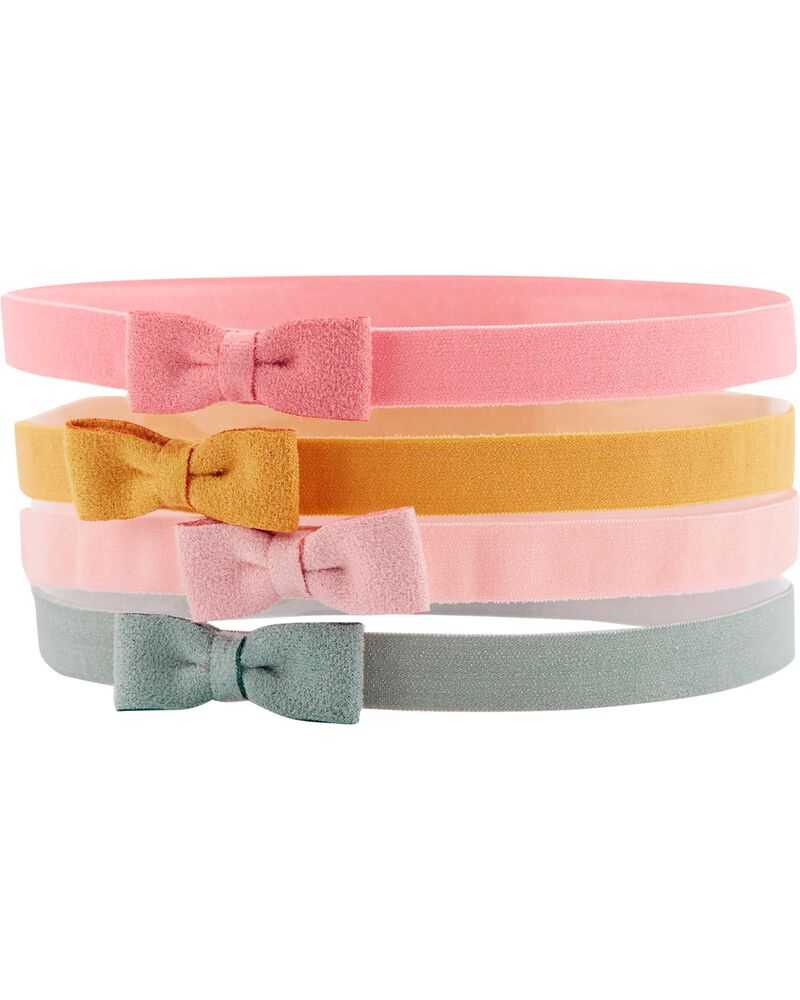 4-Pack Bow Headwraps, , hi-res