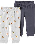 2-Pack Certified Organic Cotton Pants, , hi-res