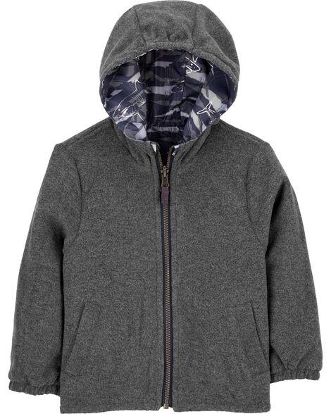 Reversible Fleece-Lined Midweight Jacket