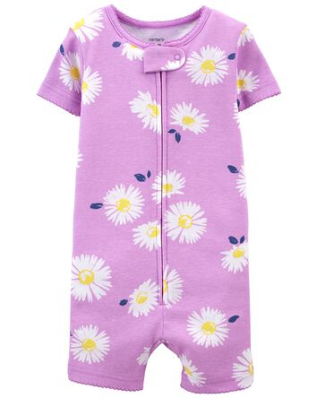 Pyjama barboteuse 1 pièce en coton...