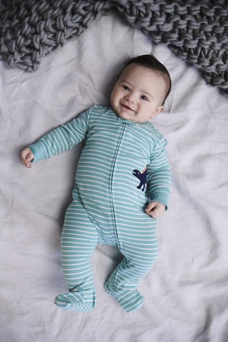 Dinosaur Zip-Up Cotton Sleep & Play