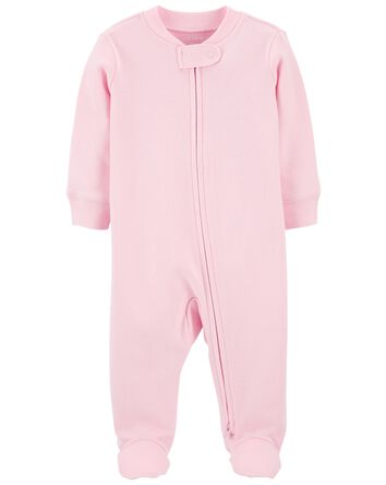2-Way Zip Cotton Sleep & Play