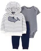 3-Piece Whale Little Jacket Set, , hi-res
