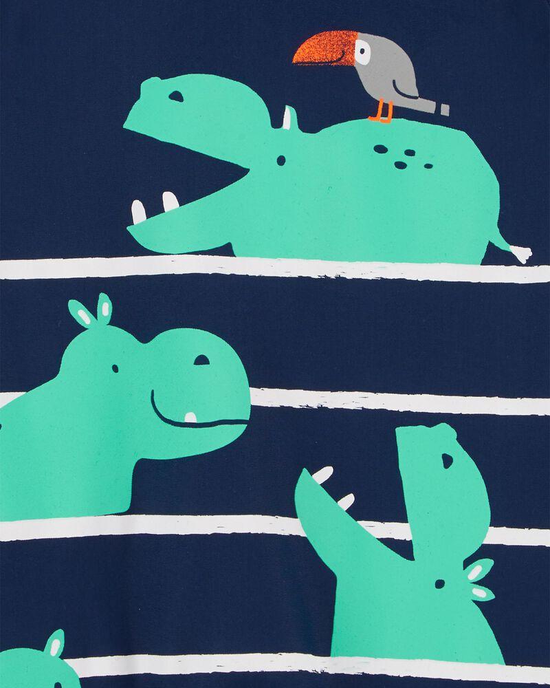 Maillot dermoprotecteur 1 pièce hippopotame, , hi-res