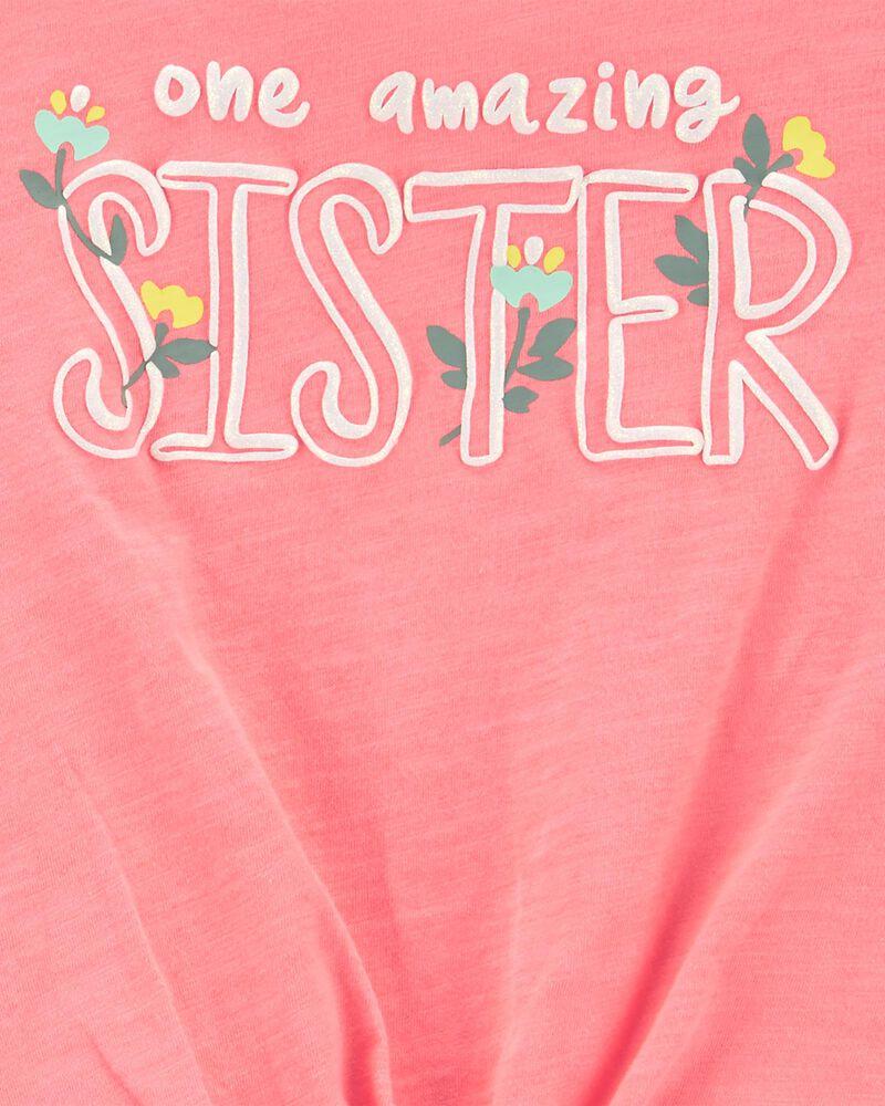 Ensemble 2 pièces t-shirt en jersey Sister et short , , hi-res