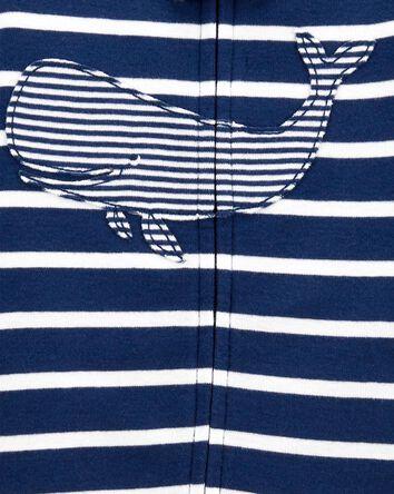 1-Piece Whale 100% Snug Fit Cotton...