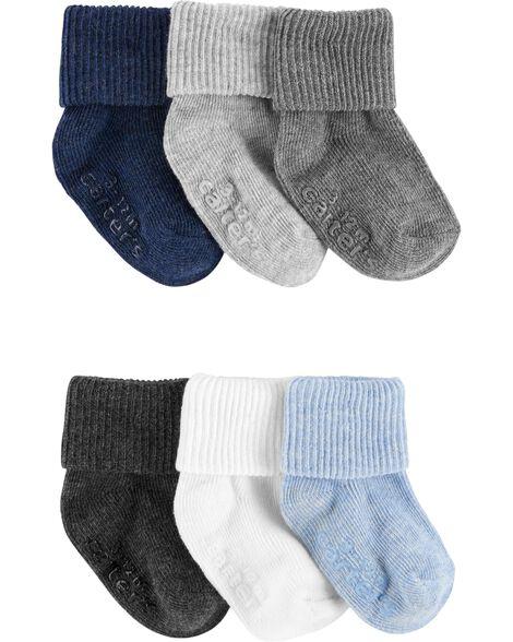 Emballage de 6 paires de chaussons