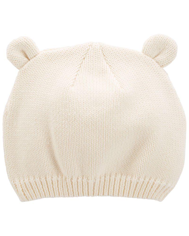 Bonnet à oreilles d'ourson, , hi-res