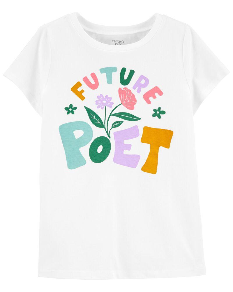 T-shirt en jersey Future Poet, , hi-res