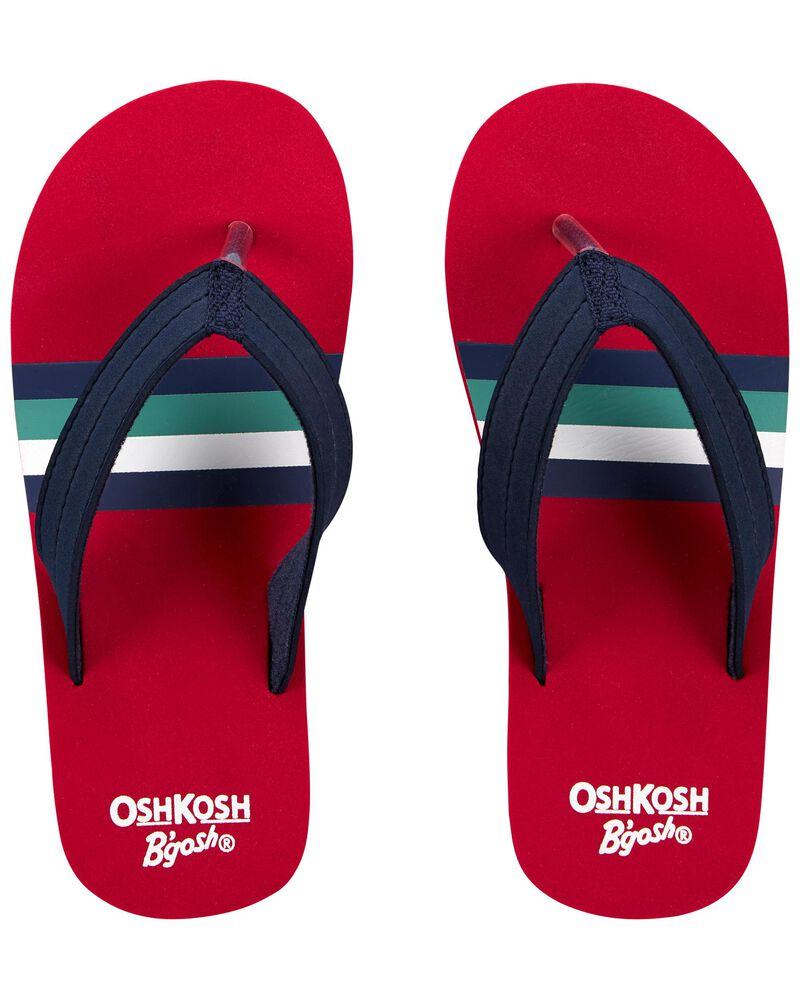 Sandales de plage à rayures rétro, , hi-res