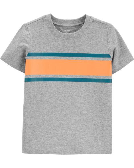 T-shirt en jersey aux couleurs contrastantes