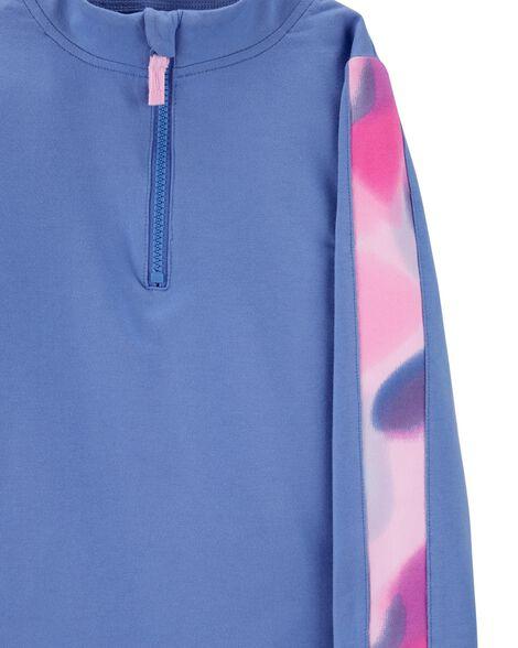 Chandail en jersey à demi-glissière