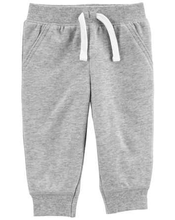 Pull-On French Terry Pants