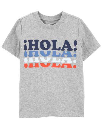 T-shirt en jersey Hola