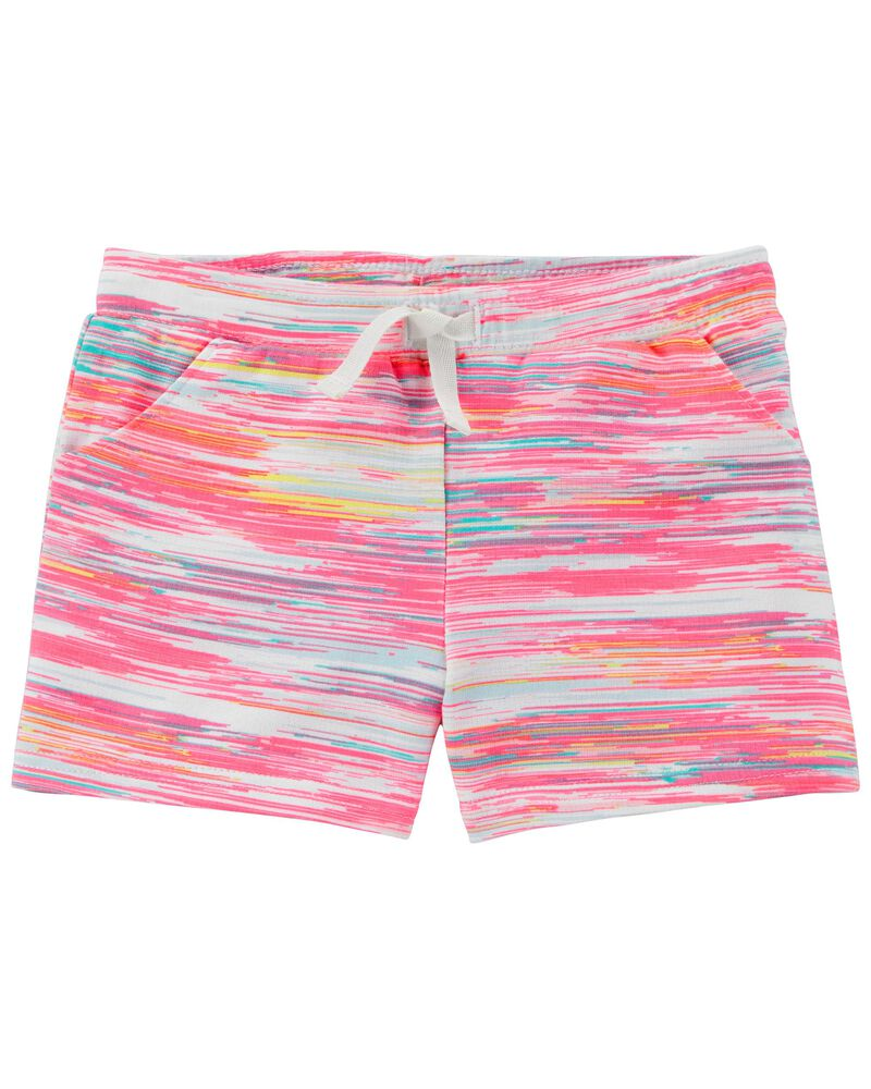 Space Pull-On Shorts, , hi-res