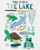 T-shirt en jersey flammé Things To Find At The Lake , , hi-res