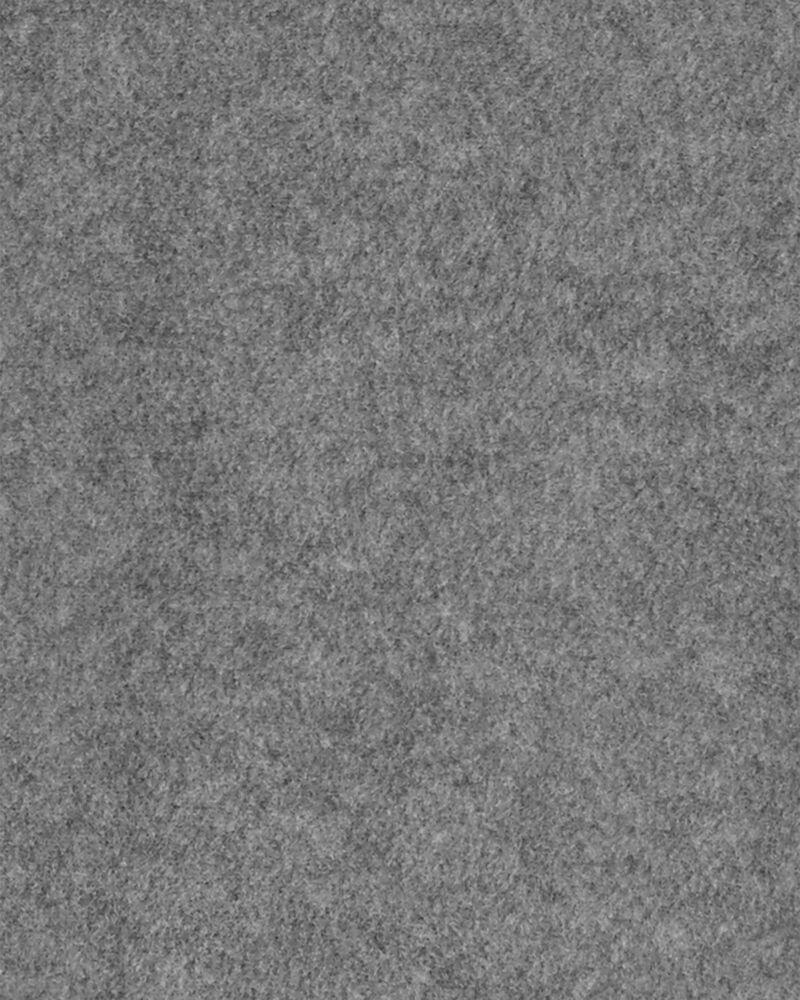 Kangourou en molleton sans glissière requin, , hi-res