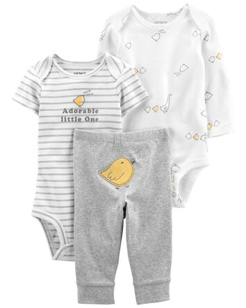3-Piece Adorable Little Character S...