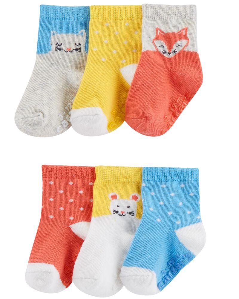 Emballages de 6 paires de chaussettes à personnage, , hi-res