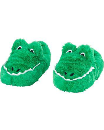 Pantoufles à alligator