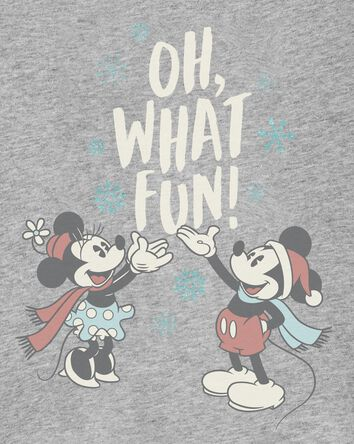 T-shirt des Fêtes Mickey et Minnie...