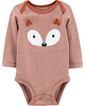 Fox Long-Sleeve Bodysuit