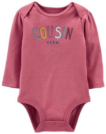 Cousin Crew Long-Sleeve Bodysuit