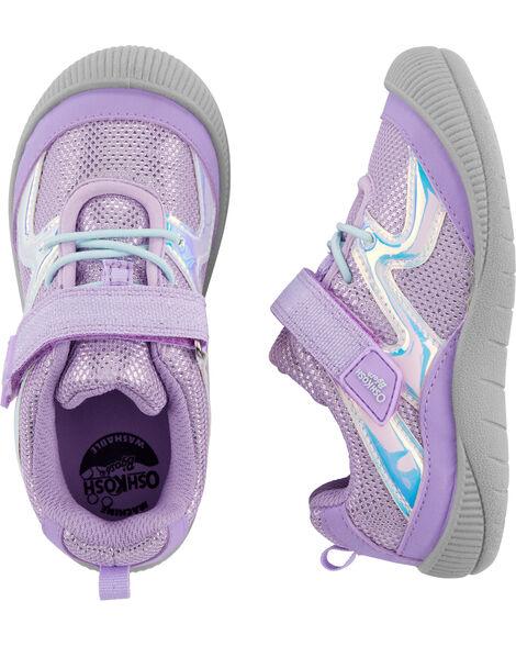 Lavender Bump Toe Athletic Sneakers