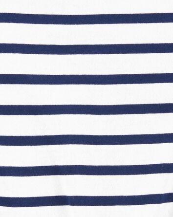 T-shirt en jersey à nœud devant