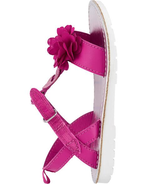 Sandales à flamant