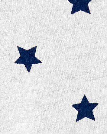 Combinaison en coton à étoiles