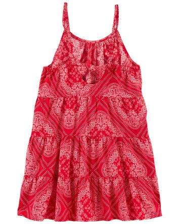 Tiered Bandana Dress