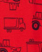 Construction Truck Bodysuit, , hi-res