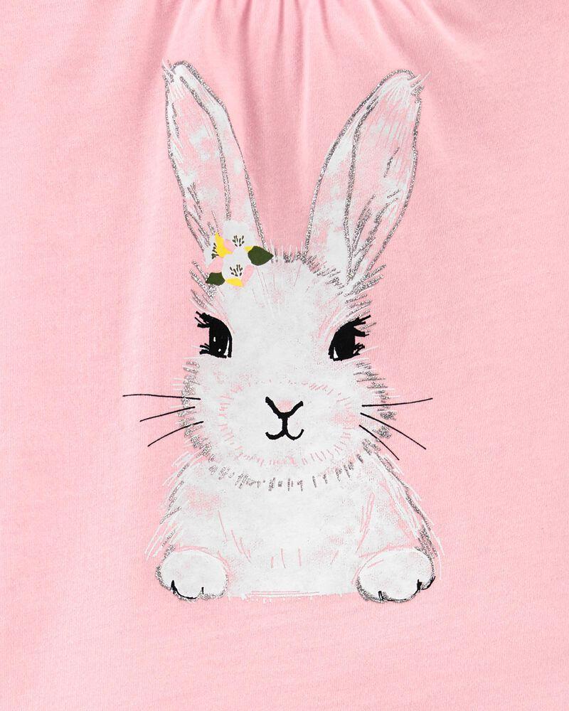 2-Piece Bunny Jersey Tee & Short Set, , hi-res